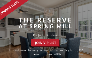 The Reserve at Spring Mill - New Construction in Ivyland, PA