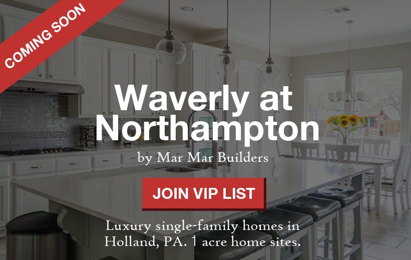 Waverly at Northampton by Mar Mar Builders in Holland, PA